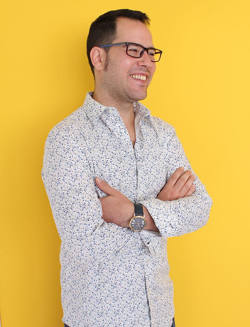 plano medio de José Miguel Díaz