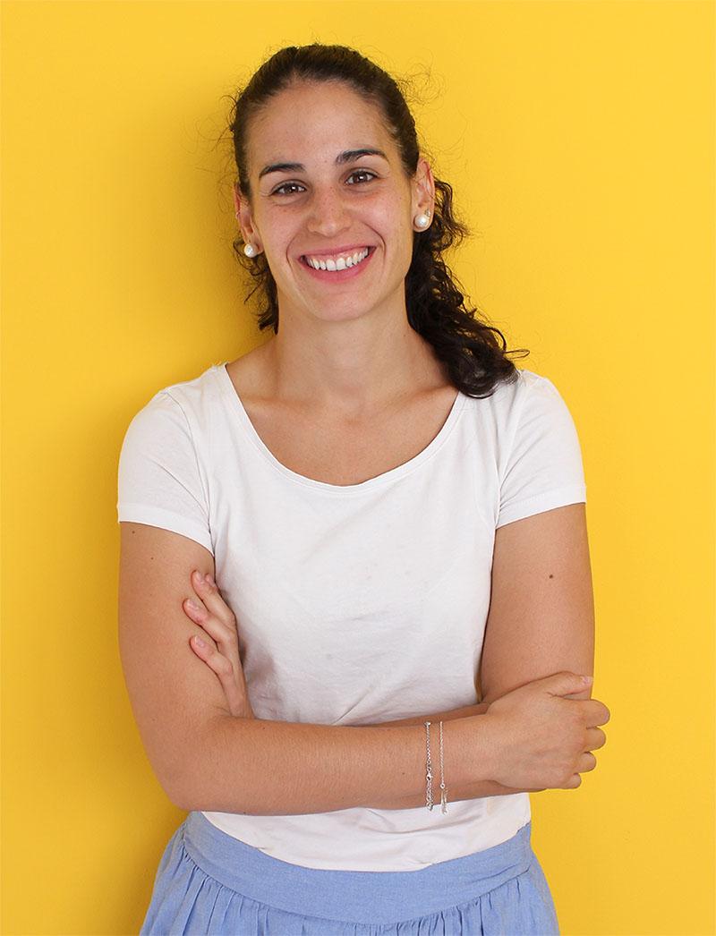 plano medio de Sara Pérez